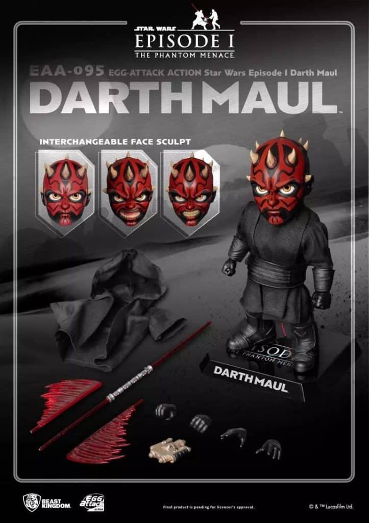 Beast Kingdom Star Wars Episode I - Darth Maul (EAA-095) Action Figure