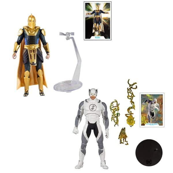 McFarlane Toys: DC Multiverse - Injustice 2: Dr. Fate & Flash Hot Pursuit 7-Inch Action Figures - DC Gaming Wave 4