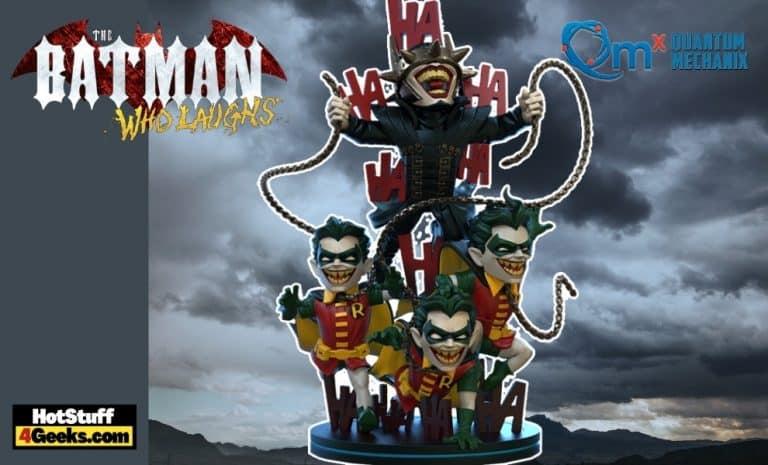 Quantum Mechanix: Dark Nights Metal Batman Who Laughs Q-Fig Max Elite