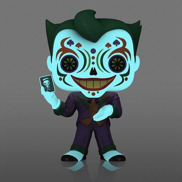 Dia De Los DC - Joker Glow-in-the-Dark (GITD) - Amazon Exclusive