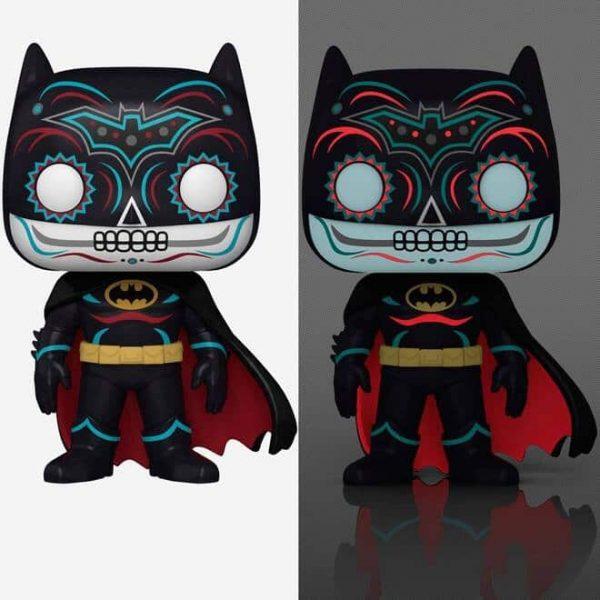Dia de Los DC - Batman Glow-in-the-Dark (GITD) Funko Pop! Vinyl Figure - Hot Topic Exclusive