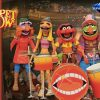 Diamond Select Toys: Muppets Best of Series 3 - Floyd Pepper & Janice, Dr. Teeth & Zoot, and Animal & Drum Kit Action Figures