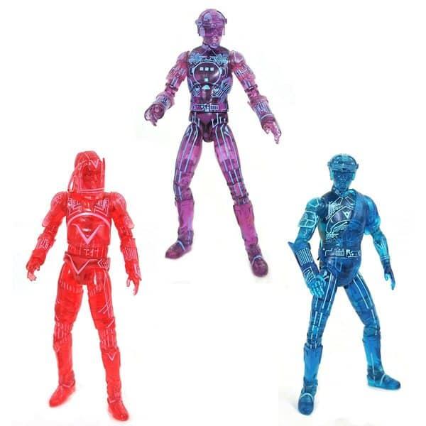Diamond Select: Tron Retro Action Figure Set of 3 - SDCC 2021 Previews Exclusive