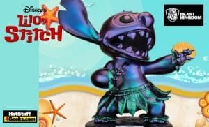 The Beast Kingdom - Disney Lilo & Stitch: Hula Stitch Master Craft (MC-031SP) Statue