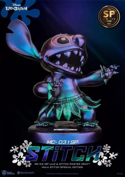 The Beast Kingdom - Disney Lilo & Stitch: Hula Stitch Master Craft (MC-031SP) Statue