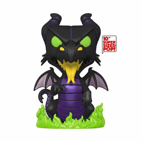 Disney Villains Maleficent Dragon 10-Inch Jumbo Pop! Vinyl Figure - Funkoween 2021