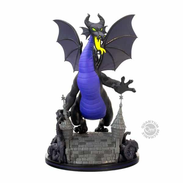 Quantum Mechanix: Disney Villains - Maleficent Dragon Q-Fig Max Elite