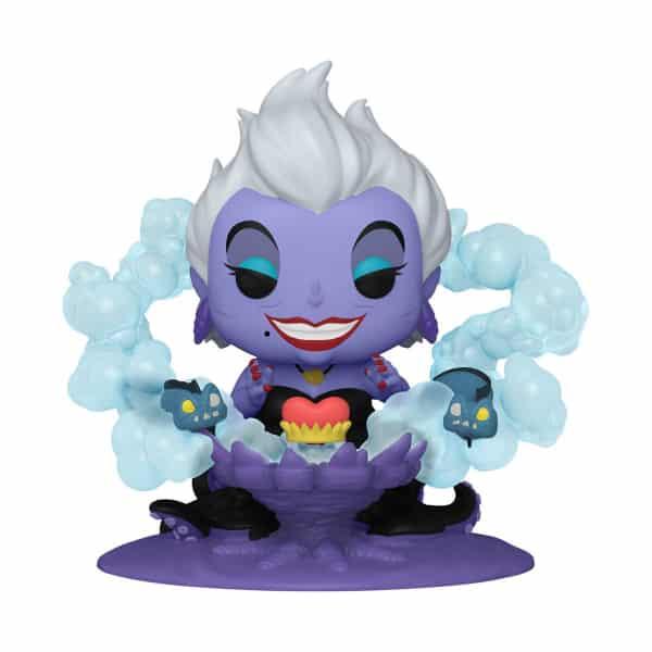 Disney Villains Ursula on Throne Deluxe Pop! Vinyl Figure - Funkoween 2021