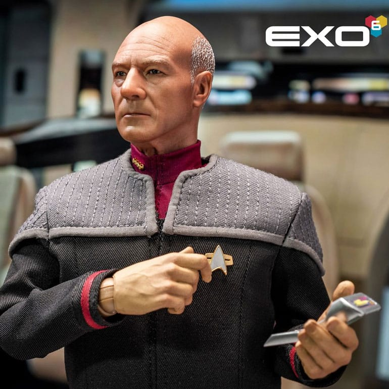 EXO-6: Star Trek: First Contact Captain Jean-Luc Picard 1:6 Scale Action Figure