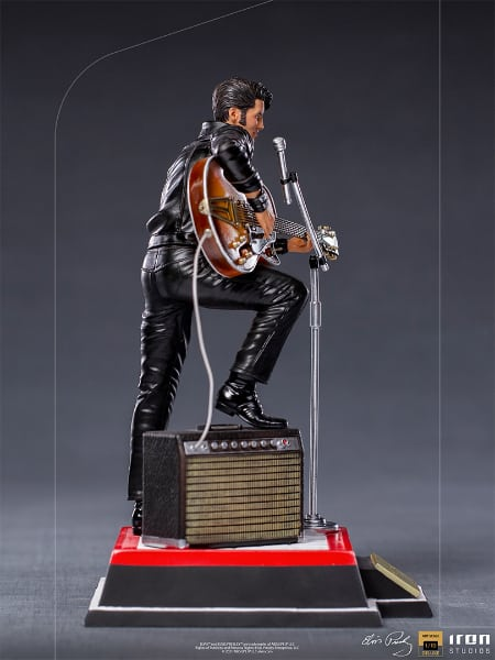 Iron Studios: Elvis Presley Comeback Deluxe Art Scale 1/10 Statue