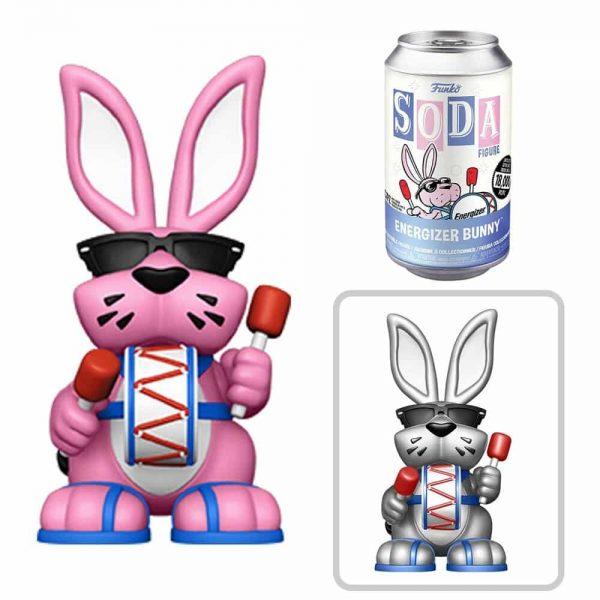 Energizer Bunny Vinyl Soda Figure