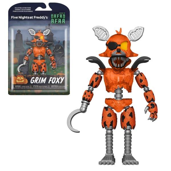 Five Nights at Freddy's Dreadbear Grim Foxy 5-Inch Action Figure