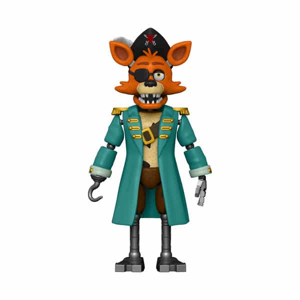 Funko Action Figure: Five Nights at Freddy's: Curse of Dreadbear - Captain Foxy - Walmart Exclusive