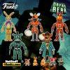 Funko Five Nights at Freddy's: Dreadbear Jack-o-Bonnie, Dreadbear, Grim Foxy, Glitchtrap, and Captain Foxy 5-Inch Action Figures and Dreadbear, Grim Foxy, Jack-O-Bonnie, Jack-O-Chica, and Captain Fox Plush - Funkoween 2021