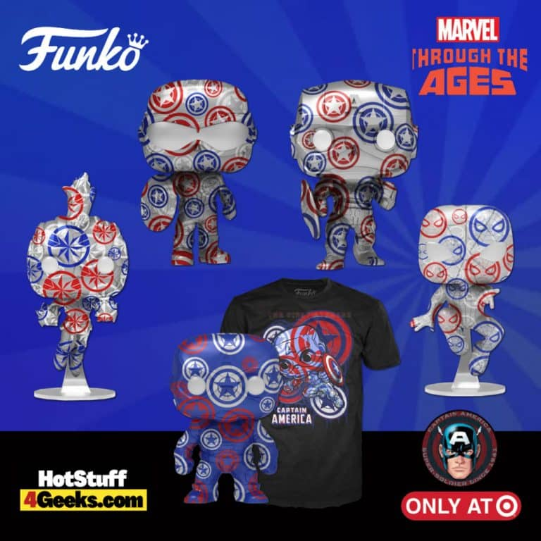 Funko POP! Artist Series: Marvel Patriotic Age - Target Exclusive