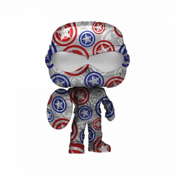 Funko POP! Artist Series: Marvel Patriotic Age - Captain America (Avengers, Stark Tech Suit) Funko Pop! Vinyl Figure - Target Exclusive