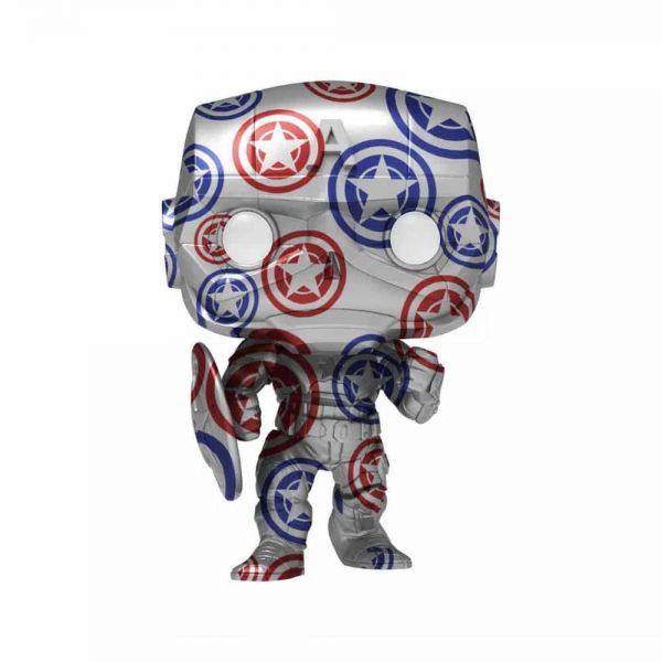 Funko POP! Artist Series: Marvel Patriotic Age - Captain America (Falcon and the Winter Soldier) Funko Pop! Vinyl Figure - Target Exclusive