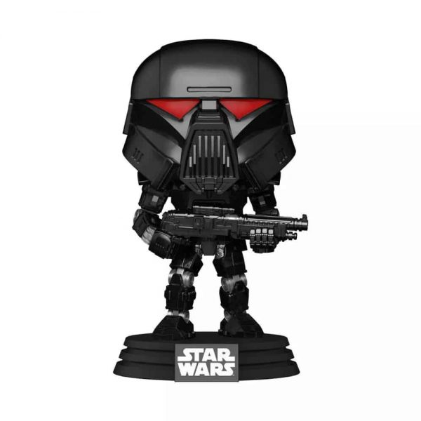 Funko POP! Star Wars The Mandalorian - Dark Trooper (Battle) Funko Pop! Vinyl Figure