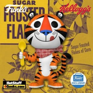 Funko Pop! Ad Icons: Kellogg's Frosted Flakes - Tony the Tiger (Retro) Funko Pop! Vinyl Figure - Funko Shop Exclusive