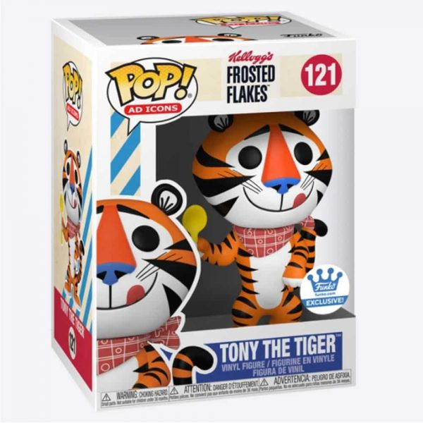 Funko Pop! Ad Icons: Kellogg's Frosted Flakes - Tony the Tiger (Retro) Funko Pop! Vinyl Figure - Funko Shop Exclusive