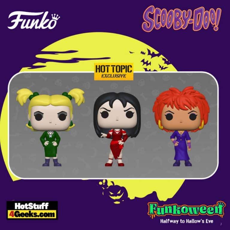 Funko Pop! Animation: Scooby-Doo: Hex Girls 3-Pack Funko Pop! Vinyl Figures - Hot Topic Exclusive (Funkoween 2021)