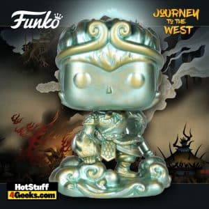 Funko Pop! Asia: Journey to the West: Monkey King Patina #115 Funko Pop! Vinyl Figure - Shanghai (China) Con Exclusive