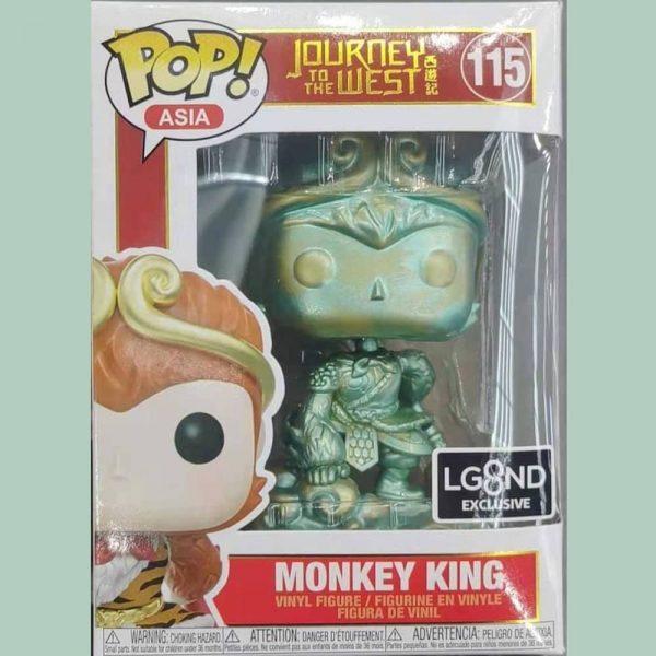 Funko Pop! Asia: Journey to the West: Monkey King Patina #115 Funko Pop! Vinyl Figure - Shanghai (China) Con Exclusive