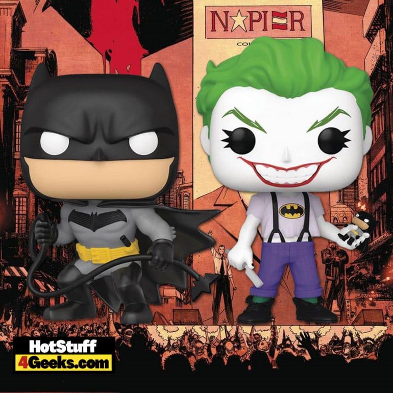Funko Pop! Batman White Knight: Batman and Joker White Knight Funko Pop! Vinyl Figure 2-Pack - SDCC 2021 PX Previews Exclusive