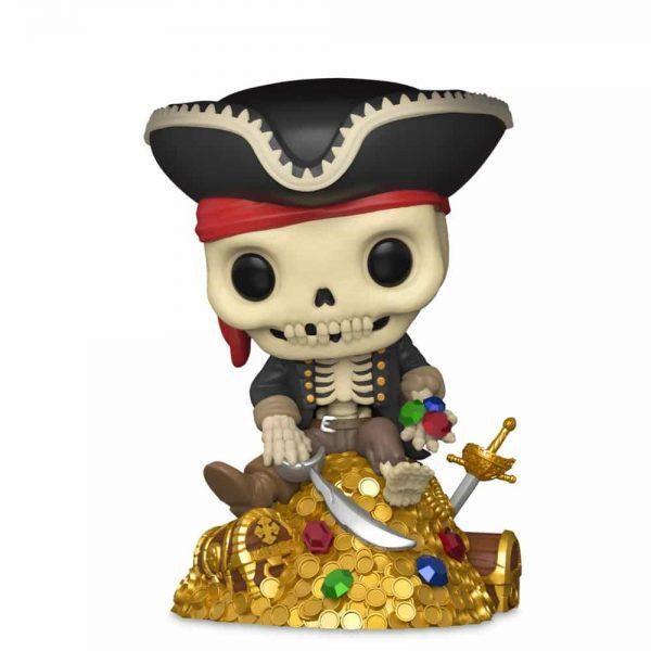 Funko Pop! Deluxe Disney Parks: Pirates of The Caribbean – Treasure Skeleton Funko Pop! Vinyl Figure – Disney Shop Exclusive