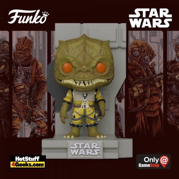 Funko Pop! Deluxe Star Wars: Bounty Hunters Collection – Bossk Funko Pop! Vinyl Figure 2 of 7 – GameStop Exclusive