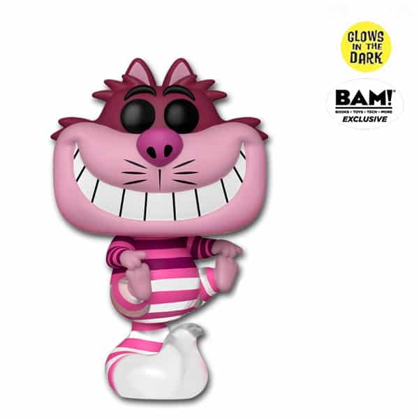 Funko Pop! Disney: Disney's Alice in Wonderland - Cheshire Cat (Translucent and Glow-In-The-Dark) Funko Pop! Vinyl Figure - BAM Exclusive (Funkoween 2021)