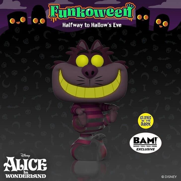 Funko Pop! Disney: Disney's Alice in Wonderland - Cheshire Cat (Translucent and Glow-In-The-Dark) Funko Pop! Vinyl Figure - BAM Exclusive