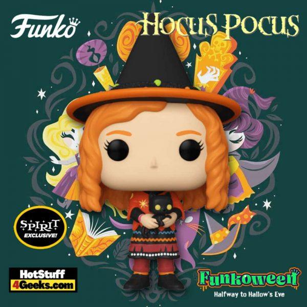 Funko Pop! Disney: Hocus Pocus - Dani with Binx Funko Pop! Vinyl Figure - Spirit Halloween Exclusive - Funkoween 2021