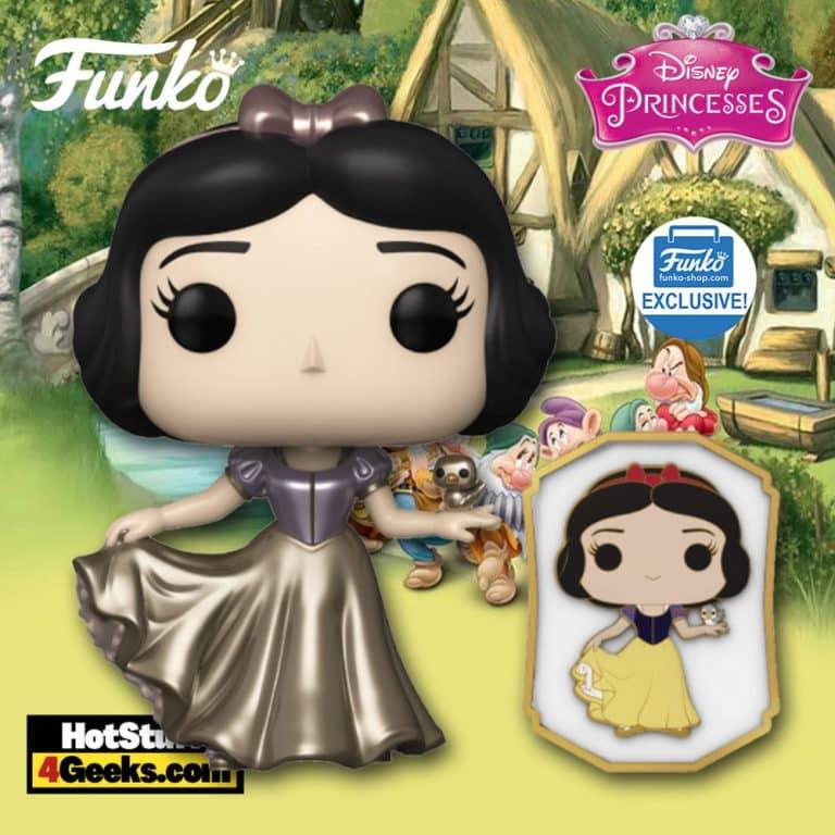 Funko Pop! Disney Ultimate Princess: Snow White Metallic Funko Pop! Vinyl Figure - Funko Shop Exclusive