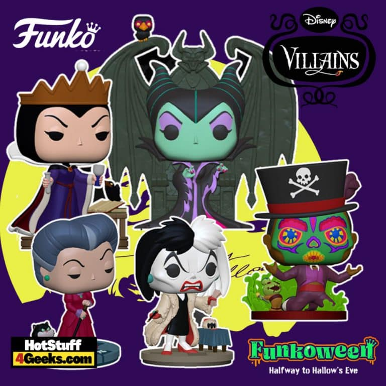 Funko Pop! Disney Villains Wave - Funkoween 2021