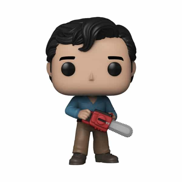 Funko Pop! Movies: Evil Dead Ash 40th Anniversary With Bloody Chase Variant Funko Pop! Vinyl Figure - Funkoween 2021