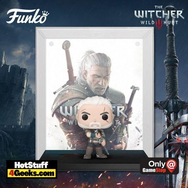 Funko Pop! Games - Game Cover: The Witcher III: Wild Hunt Geralt Funko Pop! Vinyl Figure - GameStop Exclusive - Funkoween 2021