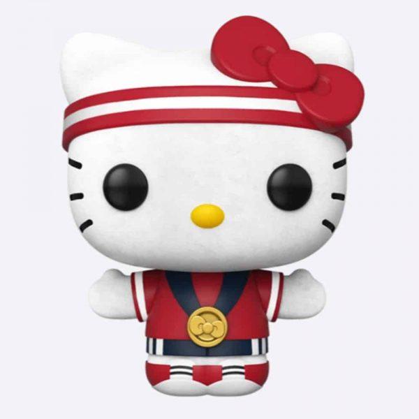Funko Pop! Hello Kitty x Team USA: Hello Kitty Gold Medal (Flocked) Funko Pop! Vinyl Figure - Funko Shop Exclusive