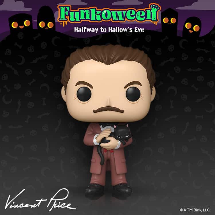 Funko Pop! Icons Vincent Price Horror Funko Pop! Vinyl Figure
