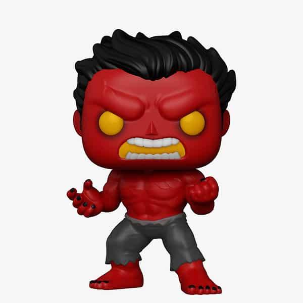 Funko Pop! Marvel: Red Hulk Glow-In-The-Dark (GITD) Funko Pop! Vinyl Figure - Hot Topic Exclusive (Funkoween 2021)