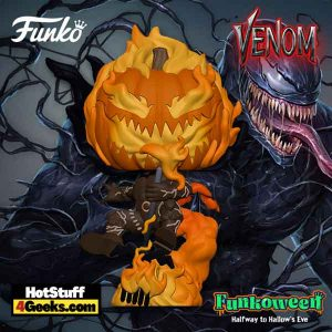 Funko Pop! Marvel Venom - Jack O'Lantern Funko Pop! Vinyl Figure - Hot Topic Exclusive