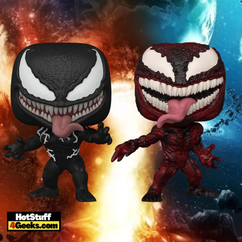 Funko Pop! Marvel: Venom: Let There be Carnage: Carnage, Venom, and Carnage 10-Inch (Walmart Exclusive) Funko Pop! Vinyl Figures