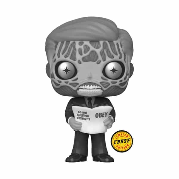 Funko Pop! Movies: They Live - Alien With Black and White Chase Variant Funko Pop! Vinyl Figure
