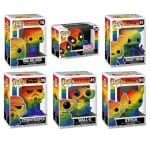 Funko Pop! Pride 2021 Rainbow Funko Pop! Vinyl Figures - Disney: Mickey Mouse, Wall-E, Bob's Burger: Tina Belcher, Star Wars: Stormtrooper, Marvel: Deadpool, Lilo & Stitch: Stitch Funko Pop! Vinyl Figures