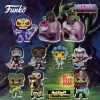 Funko Pop! Retro Toys: Masters of the Universe - Trapjaw 10-Inch, Dragstor, Snake Mountain with Skeletor, Skeletor with Night Stalker, Clamp Champ, Horde Trooper, Evil-Lyn, Merman, and Leech Funko Pop! Vinyl Figures and Beastman and Tung Lashor soda Figures