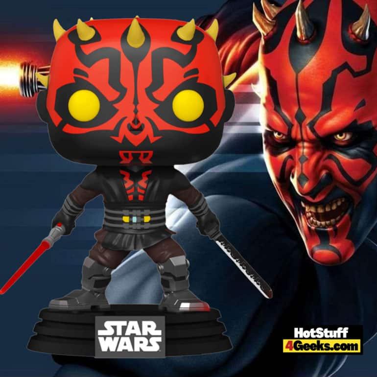 Funko Pop! Star Wars: Clone Wars - Darth Maul with Darksaber Funko Pop! Vinyl Figure