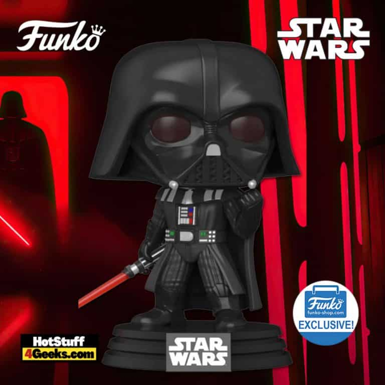 Funko Pop! Star Wars: Darth Vader in Fist Pose Funko Pop! Vinyl Figure - Funko Shop Exclusive