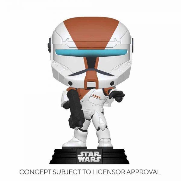 Funko Pop! Star Wars: Republic Commando - Boss (Glows In The Dark) Funko Pop! Vinyl Figure - GameStop Exclusive