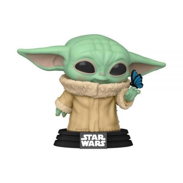 Funko Pop! Star Wars: The Mandalorian - The Child with Butterfly - GameStop Exclusive