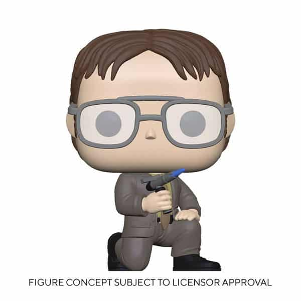 Funko Pop! The Office: Dwight with Blow Torch Funko Pop! Vinyl Figure - Target Exclusive